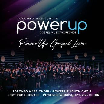 PowerUp Gospel Live CD Cover